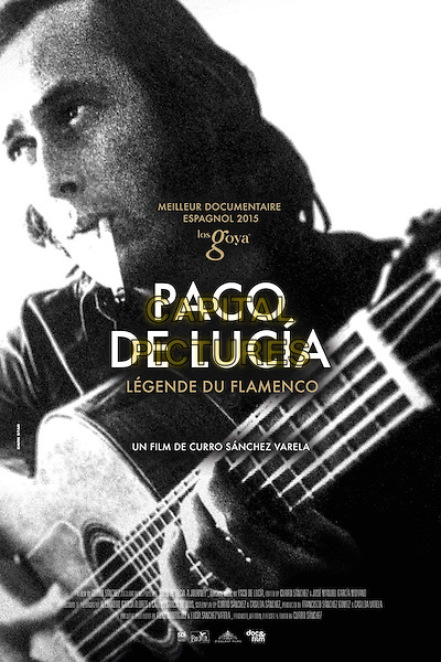 Paco de Lucia: la busqueda (2014)<br /> POSTER ART<br /> *Filmstill - Editorial Use Only*<br /> CAP/KFS<br /> Image supplied by Capital Pictures