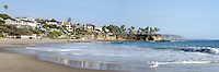 Crescent Bay Beach in Laguna Beach California