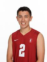 Stanford, CA -- September 19, 2018: Stanford Men's Volleyball team portraits, 2018-2019.