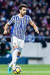 Xabi Prieto of Real Sociedad in action during the La Liga 2017-18 match between Atletico de Madrid and Real Sociedad at Wanda Metropolitano on December 02 2017 in Madrid, Spain. Photo by Diego Gonzalez / Power Sport Images
