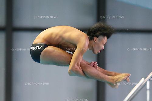 Sho Sakai (JPN), SEPTEMBER 22, 2013 - Diving : All Japan Diving Championship 2013 Men's 3m Springboard Final at Tatsumi International Swimming Pool, Tokyo, Japan.(Photo by AFLO SPORT) [1156]