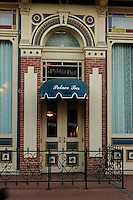 A beautifully ornate architecture of a commercial building in downtown San Diego California.