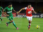 Bogotá- Independiente Santa Fe venció 2 por 0 a Equidad Seguros, en el partido correspondiente a la décima primera fecha del Torneo Clausura 2014, desarrollado en el estadio Nemesio Camacho El Campín en la noche del 24 de septiembre.