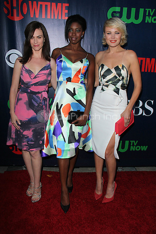 LOS ANGELES, CA - AUGUST 10: Maggie Siff, Condola Rashad, Malin Akerman at the CBS, CW, Showtime Summer TCA Party, Pacific Design Center in Los Angeles, California on August 10, 2015. Credit: David Edwards/MediaPunch