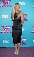 Britney Spears attends the X Factor news conference - Los Angeles