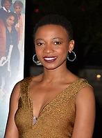 LOS ANGELES, CA- FEB. 08: Dr. Lwazi Nanzi at the 2018 Pan African Film & Arts Festival at the Cinemark Baldwin Hills 15 in Los Angeles, California on Feburary 8, 2018 Credit: Koi Sojer/ Snap'N U Photos / Media Punch