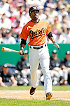 21 May 2007: Baltimore Orioles outfielder Corey Patterson in action against the Toronto Blue Jays at Doubleday Field during Baseball's Annual Hall of Fame Game in Cooperstown, NY. The Orioles defeated the Blue Jays 13-7 in front of a sellout crowd of 9,791 at the historical ballpark...Mandatory Credit: Ed Wolfstein Photo