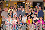 Hannah and Frankie Herlihy Camp celebrates their 25th wedding anniversary with their family and friends in the Anvil bar Boolteens on Saturday night