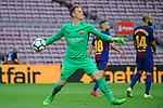 League Santander 2017/2018 - Game: 7.<br /> FC Barcelona vs UD Las Palmas: 3-0.<br /> Marc-Andre Ter Stegen.