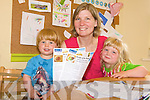 HOUSEHOLD IDEAS: Heidi Giles pictured with her children Rosie (3) and Billy (1) has set up a new website cleansheets.ie to help busy people with home ideas.