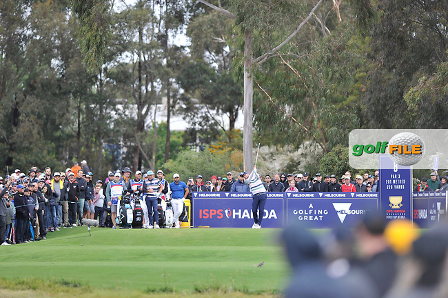 Marc Leishman (AUS) during the 3rd round of the World Cup of Golf, The Metropolitan Golf Club, The Metropolitan Golf Club, Victoria, Australia. 24/11/2018<br /> Picture: Golffile | Anthony Powter<br /> <br /> <br /> All photo usage must carry mandatory copyright credit (&copy; Golffile | Anthony Powter)