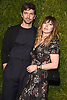 Michael Huisman and Tara Elders attends the Chanel Tribeca Film Festival Artists Dinner on April 23, 2018 at Balthazar Restaurant in New York, New York, USA.<br /> <br /> photo by Robin Platzer/Twin Images<br />  <br /> phone number 212-935-0770