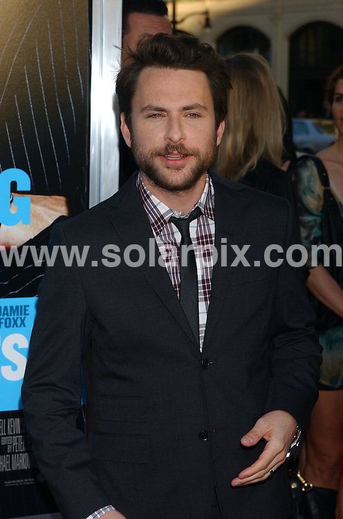 **ALL ROUND PICTURES FROM SOLARPIX.COM**                                 **WORLDWIDE SYNDICATION RIGHTS EXCEPT FOR USA & CANADA - NO PUBLICATION IN USA & CANADA**                   Caption: arrivals at the premiere of the film, HORRIBLE BOSSES  at the Graumans Chinese Theater in Hollywood, Los Angeles, USA. June 30, 2011                                                                                    This pic: Charlie Day                                                                       JOB REF: 13650 GLS       DATE: 30_06_2011                                                            **MUST CREDIT SOLARPIX.COM OR DOUBLE FEE WILL BE CHARGED**                                                                        **MUST NOTIFY SOLARPIX OF ONLINE USAGE**                 **CALL US ON: +34 952 811 768 or LOW RATE FROM UK 0844 617 7637**