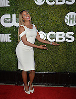LOS ANGELES, CA. August 10, 2016: Actress Laverne Cox at the CBS &amp; Showtime Annual Summer TCA Party with the Stars at the Pacific Design Centre, West Hollywood. <br /> Picture: Paul Smith / Featureflash