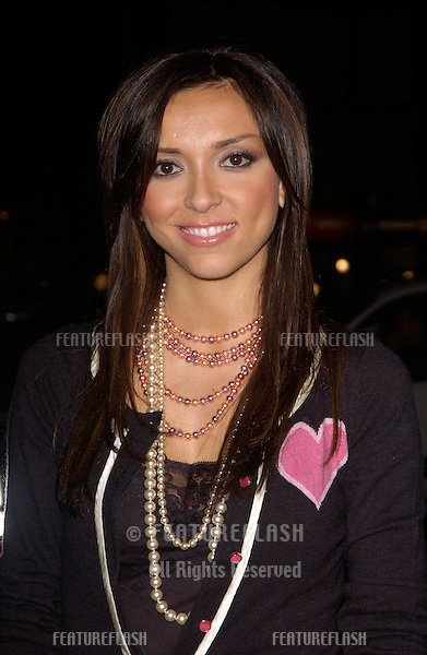 Nov 16, 2004; Los Angeles, CA: Actress GUILIANA DEPANDI at the world premiere, in Hollywood, of Alexander..