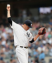 Masahiro Tanaka (Yankees),<br /> SEPTEMBER 21, 2014 - MLB :<br /> Masahiro Tanaka of the New York Yankees during the Major League Baseball game against the Toronto Blue Jays at Yankee Stadium in Bronx, New York, United States. (Photo by AFLO)