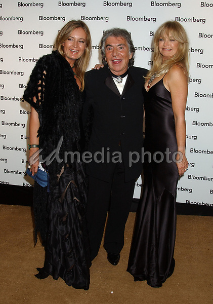 30 April 2005 - Washington, D.C. - Eva Cavalli and Roberto Cavalli withGoldie Hawn. Bloomberg News Party of the Year, following The White House Correspondents' Dinner held at a private location. Photo Credit: Laura Farr/AdMedia