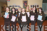 Presentation Convent leaving Cert students Michelle Burke, Asley Murphy, Abigail Walsh, Johanna Joy, Aoife Trench, Michelle Henchey & Catriona Sheehy.