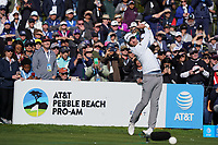 Nick Taylor (CAN) during the final round of the AT&T Pro-Am, Pebble Beach, Monterey, California, USA. 08/02/2020<br /> Picture: Golffile | Phil Inglis<br /> <br /> <br /> All photo usage must carry mandatory copyright credit (© Golffile | Phil Inglis)