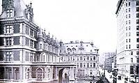 New York:  Vanderbilt Houses, 1880-84-1925.  Silver's LOST NEW YORK, p. 121.