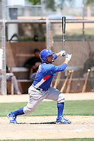 Luis Flores, Chicago Cubs 2010 minor league spring training..Photo by:  Bill Mitchell/Four Seam Images.