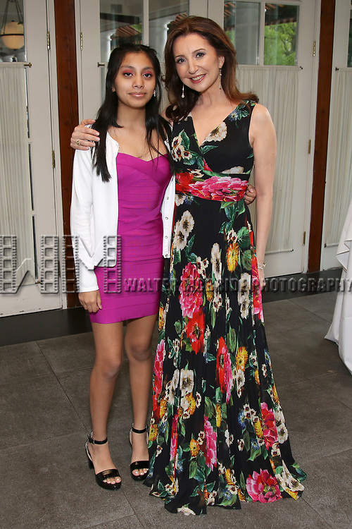 Darmia Hope Elliott and Donna Murphy attends the Urban Stages' 35th Anniversary celebrating Women in the Arts at the Central Park Boat House on May 15, 2019 in New York City.