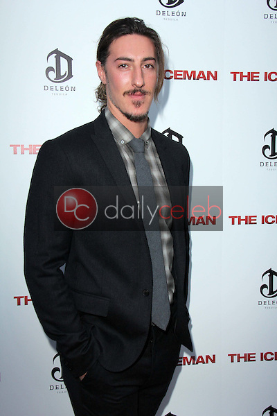 """Eric Balfour<br /> at """"The Iceman"""" Red Carpet, Arclight Theater, Hollywood, CA 04-22-13<br /> David Edwards/DailyCeleb.Com 818-249-4998"""