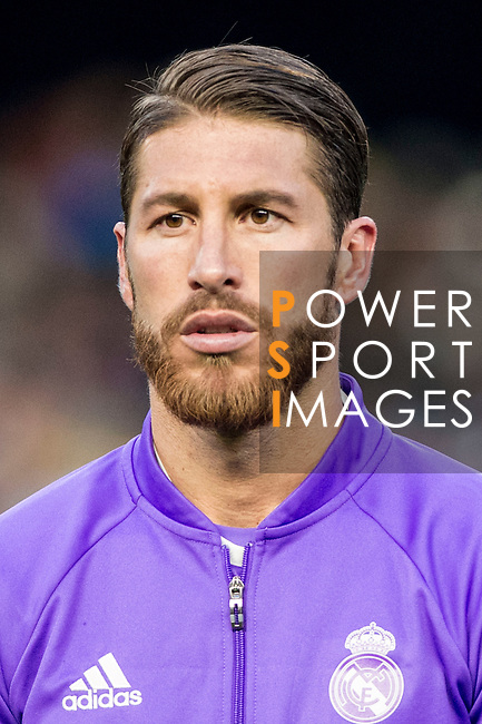 Sergio Ramos of Real Madrid prior to the La Liga match between Valencia CF and Real Madrid at the Estadio de Mestalla on 22 February 2017 in Valencia, Spain. Photo by Maria Jose Segovia Carmona / Power Sport Images