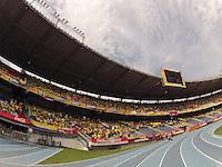 BARRANQUILLA - COLOMBIA - 05-07-2015:  Colombia y Chile durante partido de la fecha 11 para la clasificación a la Copa Mundial de la FIFA Rusia 2018 jugado en el estadio Metropolitano Roberto Melendez en Barranquilla./ Colombia and Chile during match of the date 11 for the qualifier to FIFA World Cup Russia 2018 played at Metropolitan stadium Roberto Melendez in Barranquilla. Photo: VizzorImage/ Gabriel Aponte / Staff