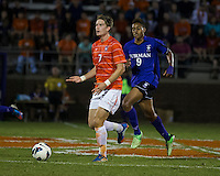 The number 24 ranked Furman Paladins took on the number 20 ranked Clemson Tigers in an inter-conference game at Clemson's Riggs Field.  Furman defeated Clemson 2-1.  Alex Stockinger (7), Bobby Edet (9)