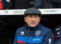 QPR manager Ian Holloway before the Sky Bet Championship match between Fulham and Queens Park Rangers at Craven Cottage, London, England on 17 March 2018. Photo by Andrew Aleksiejczuk / PRiME Media Images.