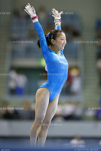Asuka Teramoto, JULY 6, 2014 - Artistic Gymnastics : The 68th All Japan Artistic Gymnastics Apparatus Championship, Women's Uneven Bars Final at Chiba Port Arena, Chiba, Japan. (Photo by Yusuke Nakanishi/AFLO SPORT)