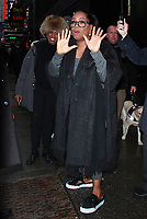 NEW YORK, NY - MARCH 7: Oprah Winfrey seen at Good Morning America promoting her new movie A Wrinkle in Time on March 07, 2018 in in New York City. <br /> CAP/MPI/RW<br /> &copy;RW/MPI/Capital Pictures