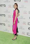 BURBANK, CA- OCTOBER 18: Actress Stana Katic arrives at the 2014 Environmental Media Awards at Warner Bros. Studios on October 18, 2014 in Burbank, California.