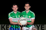 Legion captains Shaun Keane and Eoin O'Carroll who will contest this years County Championship final