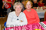 Phylis McLoughlin and Mary Murphy enjoying the Boherbee/John Mitchels Active retired Christmas Party in John Mitchels on Saturday.