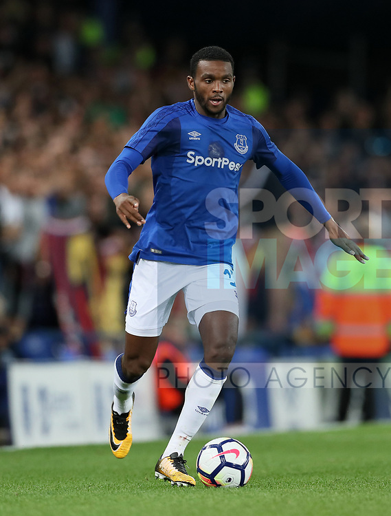 Everton's Cuco Martina in action during the Europa League Qualifying Play Offs 1st Leg match at Goodison Park Stadium, Liverpool. Picture date: August 17th 2017. Picture credit should read: David Klein/Sportimage