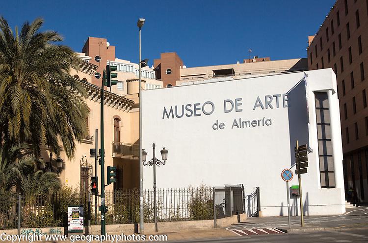 Museo de Arte, museum of art, City of Almeria, Spain