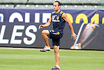 19 November 2011: Landon Donovan. The Los Angeles Galaxy held a practice session at the Home Depot Center in Carson, CA one day before playing in MLS Cup 2011.
