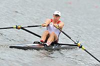 Amsterdam, NETHERLAND, USA BM1X. Ben DANN. 2011 FISA U23 World Rowing Championships, Thursday, 21/07/2011 [Mandatory credit:  Intersport Images].