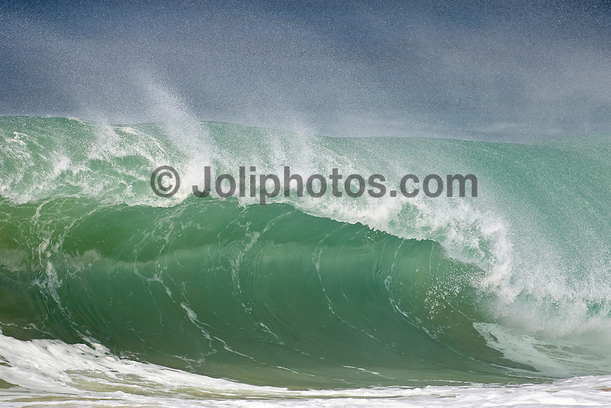The surf break of La Graviere, Hossegor in the South West corner of France. Photo: joliphotos.com