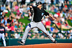 13 March 2010: Toronto Blue Jays' pitcher Sean Henn on the mound during a Spring Training game against the Atlanta Braves at Champion Stadium in the ESPN Wide World of Sports Complex in Orlando, Florida. The Blue Jays shut out the Braves 3-0 in Grapefruit League action. Mandatory Credit: Ed Wolfstein Photo