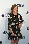 Natalia Tena arrives at the CBS Upfront at The Plaza Hotel in New York City on May 17, 2017.