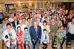 Golden Couple<br /> --------------------<br /> Tommy&amp;Mary McClure (front centre) had a great evening in the Listowel Arms celebrating their 50th wedding anniversary along with many friends and family.