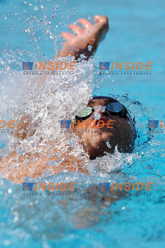 Christopher Ciccarese<br /> 200m Backstroke Men<br /> Roma 15/6/2013 Piscina del Foro Italico <br /> Nuoto 50mo trofeo Settecolli<br /> Settecolli 50th International swimming trophy <br /> Foto Antonietta Baldassarre Insidefoto