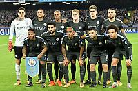 Formazione Manchester City Team Line Ups <br /> Napoli 01-11-2017 Stadio San Paolo Calcio Uefa Champions League 2017/2018 Group F Napoli - Manchester City Foto Andrea Staccioli / Insidefoto