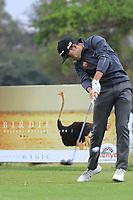 Ivan Cantero Gutierrez (ESP) in action on 1st tee during the second round of the Magical Kenya Open presented by ABSA played at Karen Country Club, Nairobi, Kenya. 15/03/2019<br /> Picture: Golffile | Phil Inglis<br /> <br /> <br /> All photo usage must carry mandatory copyright credit (&copy; Golffile | Phil Inglis)