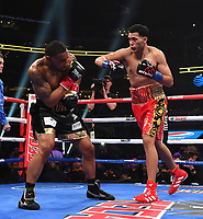 DALLAS, TX - MARCH 16: David Benavidez fights J'Leon Love at the Fox Sports PBC Pay-Per-View fight night at AT&T Stadium on March 16, 2019 in Dallas, Texas. (Photo by Frank Micelotta/Fox Sports/PictureGroup)