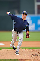Cedar Rapids Kernels pitcher Sam Gibbons (26) delivers a pitch during a game against the West Michigan Whitecaps on June 7, 2015 at Fifth Third Ballpark in Comstock Park, Michigan.  West Michigan defeated Cedar Rapids 6-2.  (Mike Janes/Four Seam Images)
