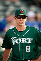 Fort Wayne TinCaps pitcher MacKenzie Gore (8) before a game against the West Michigan Whitecaps on May 17, 2018 at Parkview Field in Fort Wayne, Indiana.  Fort Wayne defeated West Michigan 7-3.  (Mike Janes/Four Seam Images)